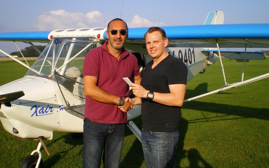 Ny pilot i Albatros – Simon