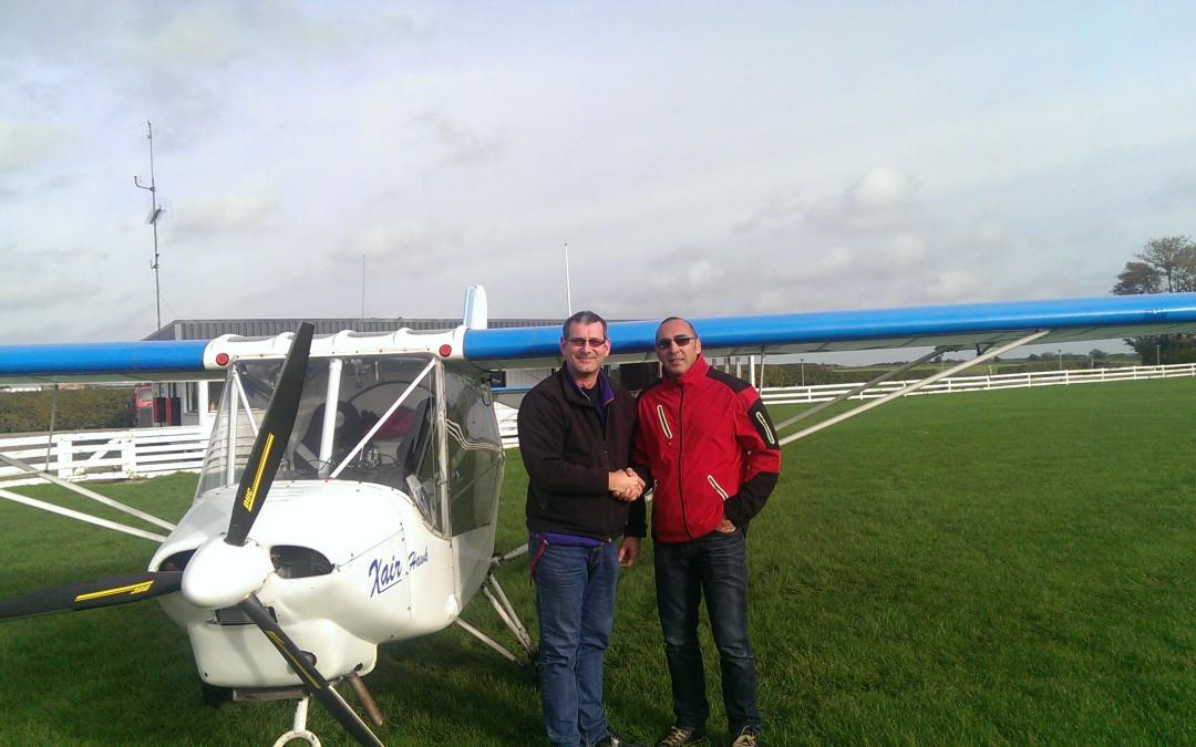 Ny pilot i Albatros – David Nyhjem
