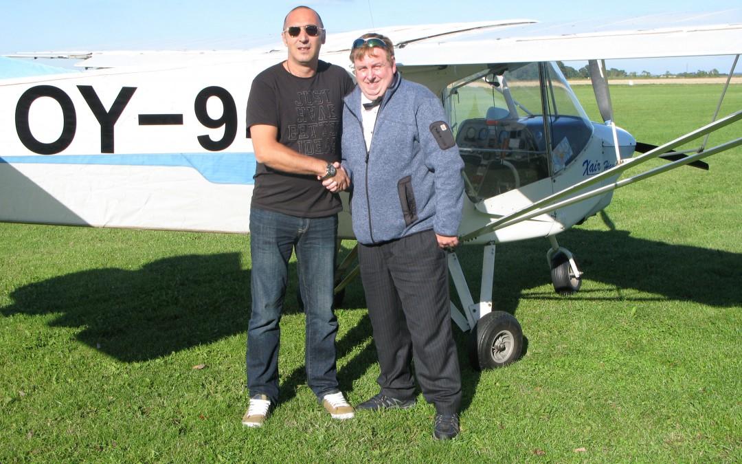 Ny pilot i Albatros – Lars Kaalby