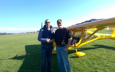 Ny pilot i Albatros – Bue Helleskov