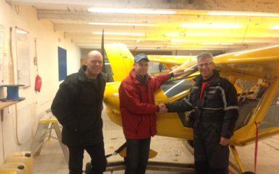 Ny pilot i Albatros – Thomas
