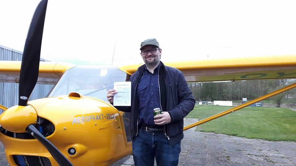 Ny pilot i Albatros – Frederik