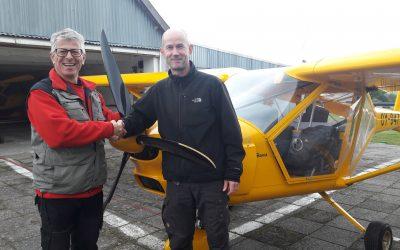 Ny pilot i Albatros – David