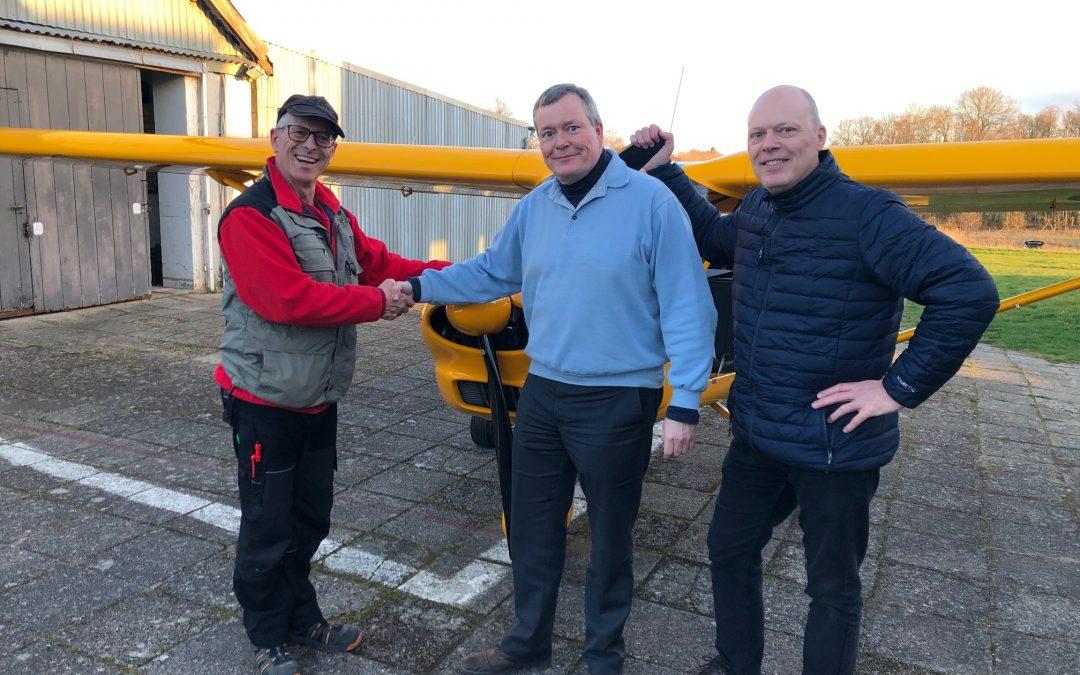 Ny pilot i Albatros – Bo