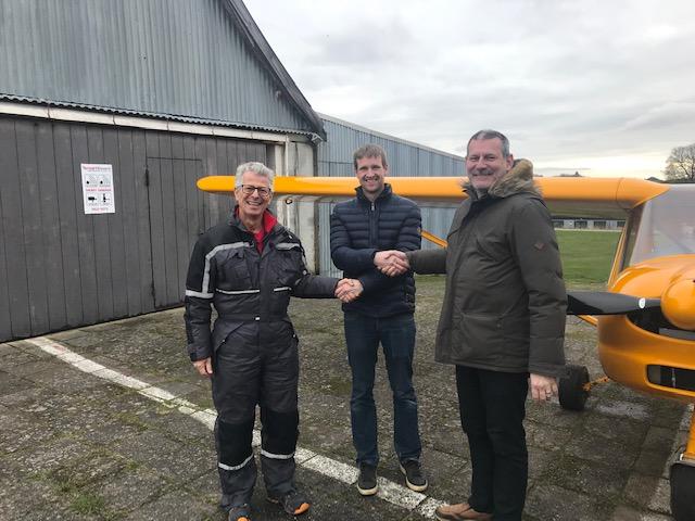 Ny pilot i Albatros – Martin
